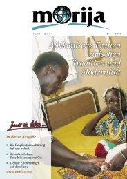 Afrikanische Frauen zwischen Tradition und Modernität - Morija