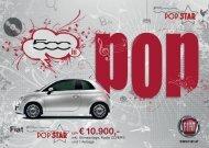 Fiat 500 um sensationelle EUR 10.900