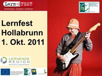 Weinviertel-Manhartsberg - Lern:-)FEST - Lernende Regionen - in ...