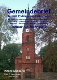 unsere gottesdienste - Kirchenkreis Oderbruch