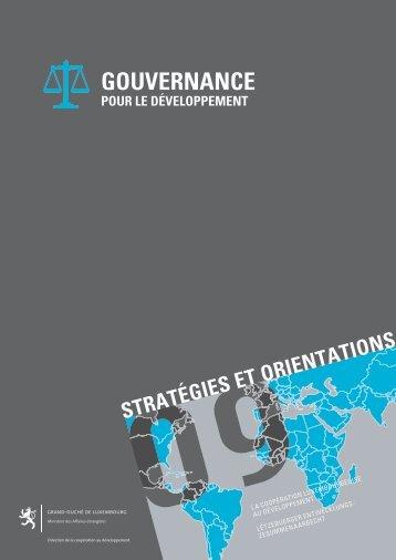 GOUVERNANCE - Ministère des affaires étrangères