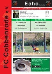 Ausgabe 18 - FC Cobbenrode 1926 eV