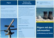 Pilgern mit den Jahreszeiten - Via Tempora Verlag