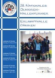 28. Nationales Junioren - FC Däniken-Gretzenbach