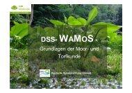 DSS-WAMOS - Grundlagen der Moor- und Torfkunde