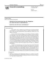Bericht 2005