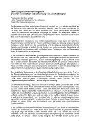Lufthansa Risikomanagement, Manfred Müller - Trend Micro