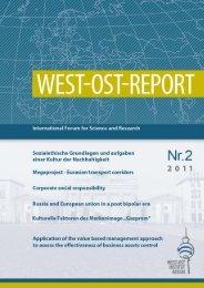 West-Ost-Development