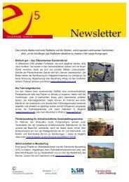 Newsletter - e5-Salzburg