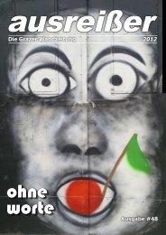 Ausgabe #48 Die Grazer Wandzeitung 2012 - ausreißer - die grazer ...