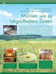 Landwirtschaft - Magazin Freiheit für Tiere