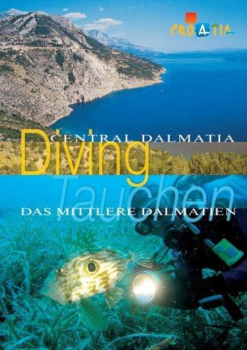 CENTRAL DALMATIA DAS MITTLERE DALMATIEN