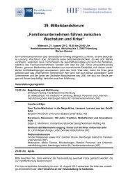 Nähere Informationen - Hamburger Institut für Familienunternehmen ...