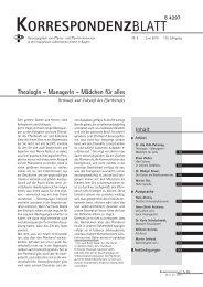 TheologIn – ManagerIn – Mädchen für alles - Pfarrer- und ...