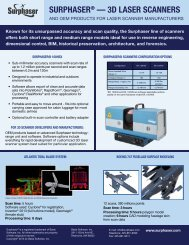 Download Brochure & Spec Sheet - Surphaser