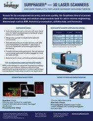 Download Brochure & Spec Sheet - Surphaser