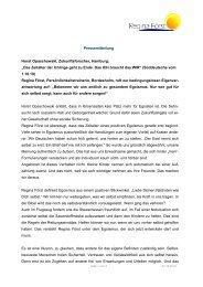 Pressemitteilung Horst Opaschowski, Zukunftsforscher, Hamburg ...