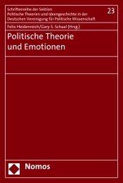 Politische Theorie und Emotionen - Nomos