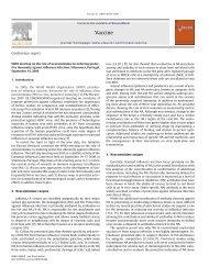 post-splenectomy vaccine prophylaxis - SurgicalCriticalCare net