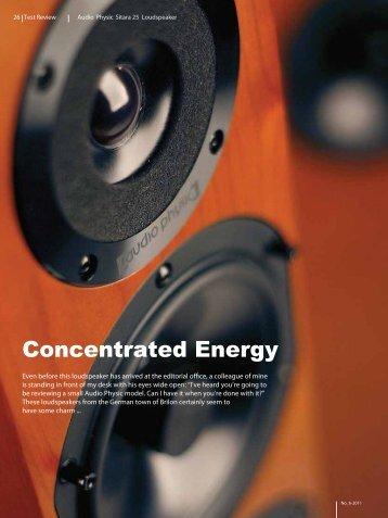 PDF 540 KB - Audio Physic