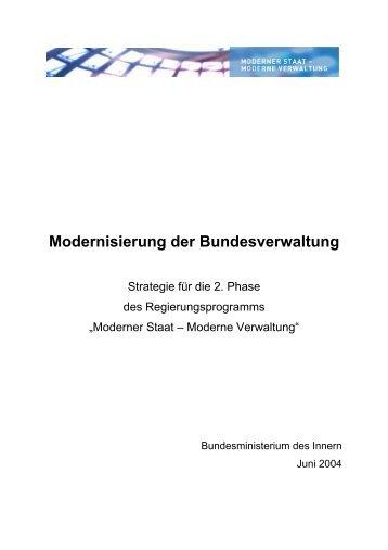 PDF 2. Phase Moderner Staat - Bund.de
