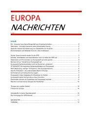 Europa-Nachrichten - SPD Ortsverein München-Au