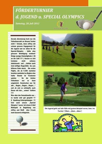 Nachlese zum Jugendförderer Turnier - Klostertal