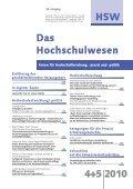 HSW - Das Hochschulwesen - Seite 3