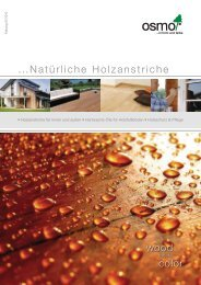 ...Natürliche Holzanstriche wood color - An Aus Licht