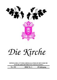 Kirchenzeitung web 2004-1 - Liberalkatholische Kirche in Deutschland