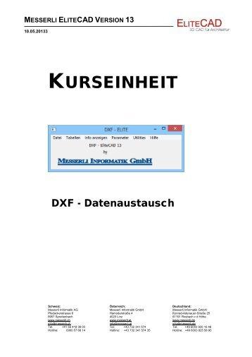 KURSEINHEIT - EliteCAD