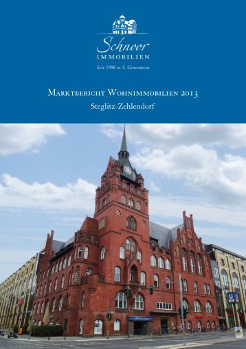 (2) Marktbericht 2013 Steglitz-Zehlendorf.psd - Schnoor Immobilien