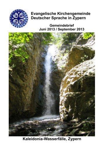 Gemeindebrief Juni-Juli 2013 download - Ev-kirche-zypern.de