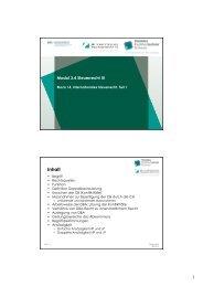 Modul 3.4 Steuerrecht III / Block 14, Internationales ... - taxadvisors.ch