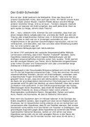 Der Erdöl-Schwindel - Wiesenfelder.de
