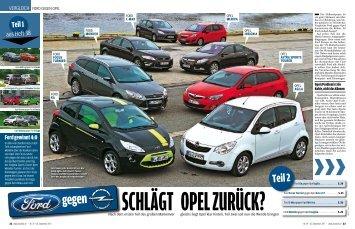 Schlägt Opel zurück?