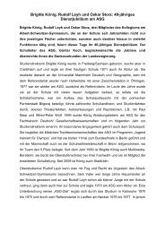 40-jähriges Dienstjubiläum am ASG - Albert-Schweitzer-Gymnasium ...