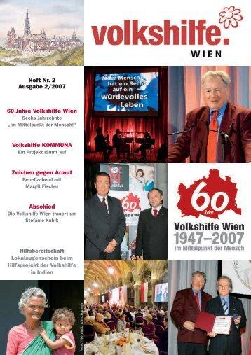 Heft Nr. 2 Ausgabe 2/2007 60 Jahre Volkshilfe Wien Volkshilfe ...
