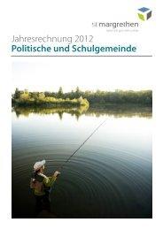 Jahresrechnung_2012 [PDF, 4.08 MB] - St. Margrethen