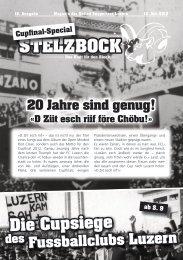 Der Stelzbock - Das Blatt für den Block», 18. Ausgabe (PDF - 4,8 MB)