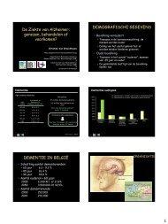 De Ziekte van Alzheimer: genezen, behandelen of voorkomen ... - GAB