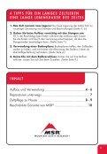BENUTZERHANDBUCH - Cascade Designs, Inc. - Seite 3