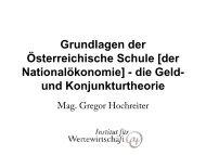 Mag. Gregor Hochreiter, M.Sc. - GO-AHEAD