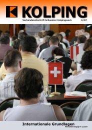 Internationale Grundlagen - Kolping Schweiz