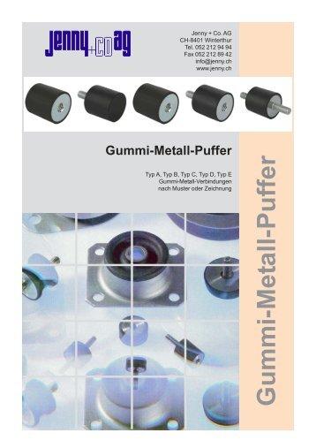 Gummi-Metall-Puffer Typ A - Jenny + Co. AG