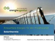 Musterüberschrift - Energieagentur Regensburg