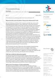 IT & Business: Leistungsschau der Unternehmens-IT - Messe Stuttgart