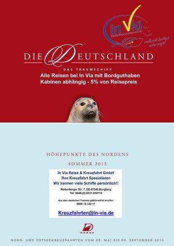 Nordland Kreuzfahrten - MS Deutschland