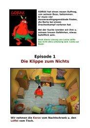 Gorax-1, Lockes deutsche, bebilderte ... - Gamepad.de