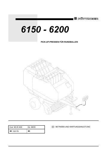 varioprofi 6150/6200 - Alois Pöttinger Maschinenfabrik GmbH